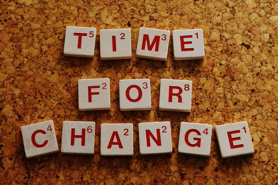 Time for change Interne communicatie Verandervisie