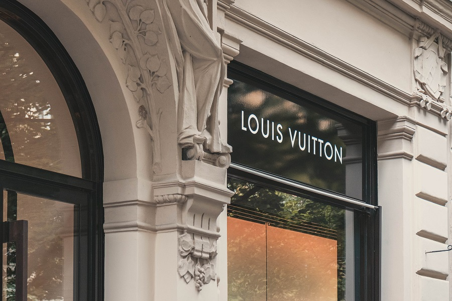 louis vuitton modehuis trump